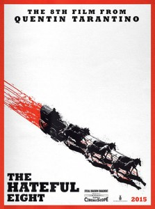 """The Hateful Eight"" Teaser Poster"