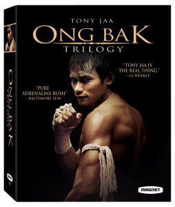"""Ong-Bak Trilogy"" Blu-ray Cover"