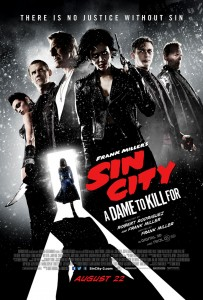 """Sin City: A Dame to Kill"" Theatrical Poster"