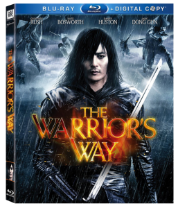 """The Warrior's Way"" Blu-ray Cover"