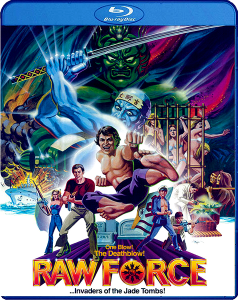 """Raw Force"" Blu-ray Cover"
