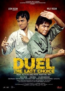 """Duel: The Last Choice"" Indonesian Theatrical Poster"