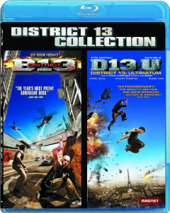"""District 13 Collection"" Blu-ray Cover"