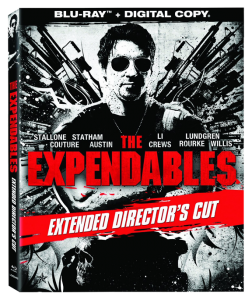 """The Expendables: Extended Director's Cut"" Blu-ray Cover"