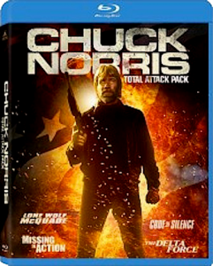 Chuck Norris Total Attack Pack | Blu-ray (MGM)