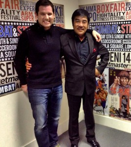 Paul Bramhall and Hwang Jang Lee.