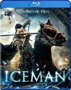 """Iceman"" Blu-ray Cover"