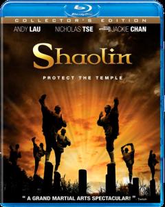 """Shaolin"" Blu-ray Cover"