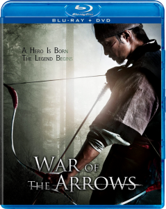 """War of the Arrows"" Blu-ray Cover"
