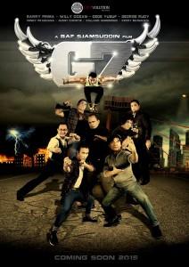 """""""Garuda 7"""" Promo Poster"""