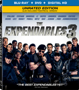 The Expendables 3: Theatrical & Unrated | Blu-ray & DVD (Lionsgate)