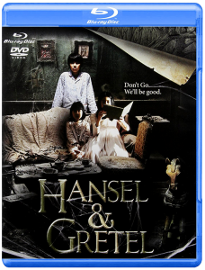 """Hansel and Gretel"" Blu-ray Cover"