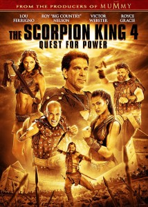 """The Scorpion King 4"" Blu-ray Cover"