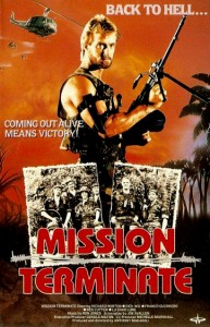 """Mission Terminate"" Dutch VHS Cover"