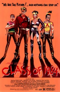"""Class of 1984"" Theatrical Poster"