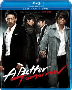 """A Better Tomorrow"" Blu-ray Cover"