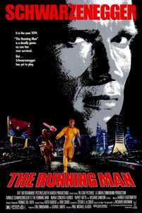 """The Running Man"" Theatrical Poster"