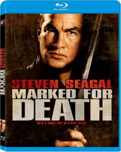 """""""Marked for Death"""" Blu-ray Cover"""