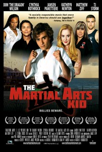 """The Martial Arts Kid"" Theatrical Poster"