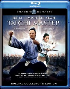 """Tai Chi Master"" Blu-ray Cover"