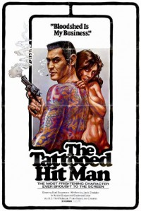 """""""Tattooed Hit Man"""" Theatrical Poster"""