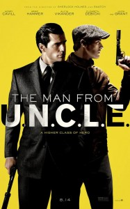 """The Man from U.N.C.L.E"" Theatrical Poster"