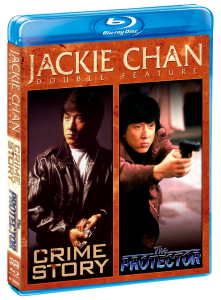 """""""Protector & Crime Story"""" Blu-ray Cover"""