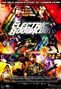 """Electric Boogaloo: The Wild, Untold Story of Cannon Films"" Theatrical Poster"