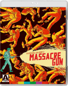 """Massacre Gun"" Blu-ray Cover"