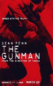 """The Gunman"" Teaser Poster"