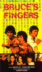 """Bruce's Deadly Fingers"" Chinese Poster"