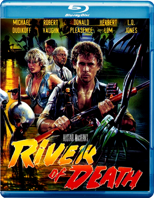 River of Death (1989) [English] SL DM - Michael Dudikoff, Donald Pleasence, Robert Vaughn