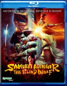 Samurai Avenger: The Blind Wolf   Blu-ray (Synapse Films)