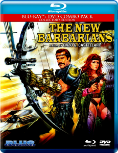 The New Barbarians | Blu-ray & DVD (Blue Underground)