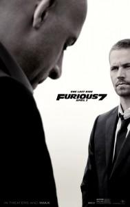 """Furious 7"" Teaser Poster"