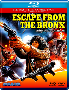 Escape From the Bronx | Blu-ray & DVD (Blue Underground)