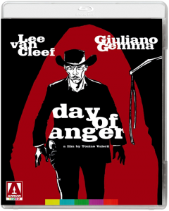 """Day of Anger"" Blu-ray Cover"