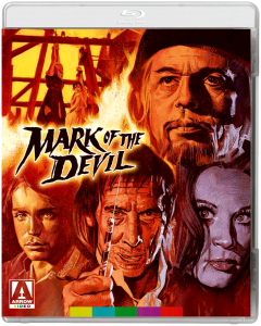 """Mark of the Devil"" Blu-ray Cover"