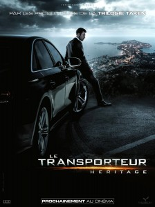 """""""Transporter Refueled"""" French Theatrical Poster"""