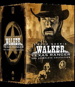 Walker Texas Ranger: Complete Collection   DVD (Paramount)