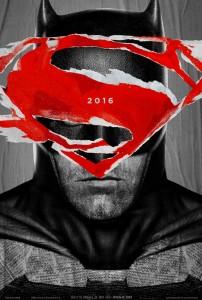 """""""Batman v Superman: Dawn of Justice"""" Teaser Poster"""