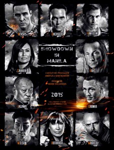 """Showdown in Manila"" Theatrical Poster"