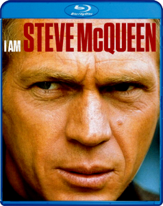 """I Am Steve McQueen"" Blu-ray Cover"