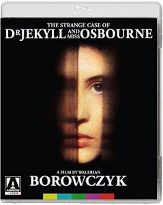 "The Strange Case of Dr. Jekyll and Miss Osbourne ""Blu-ray"" Cover"
