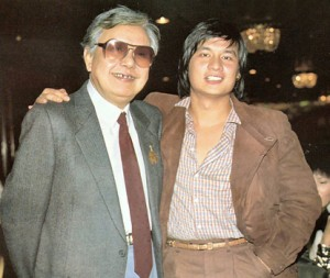 Chang Cheh and Fu Sheng.