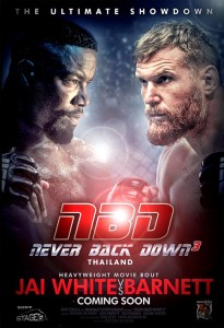 """Never Back Down 3"" Teaser Poster"