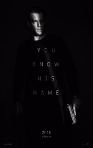 """Jason Bourne"" Theatrical Poster"
