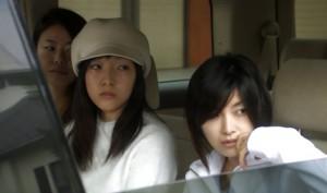 "Sakura Ando with her crew in ""Love Exposure"""