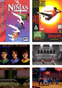 3 Ninjas Kick Back (1994) and Dragon: The Bruce Lee Story (1995)