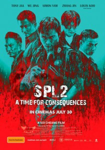"""""""SPL 2 - A Time for Consequences"""" Australian Theatrical Poster"""